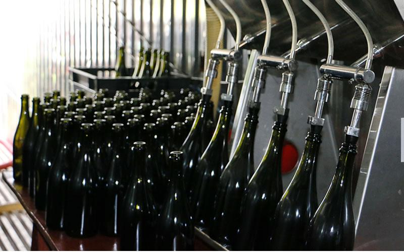 Burbujas de Altura • Proceso: Segunda fermentación