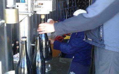 Burbujas de Altura • Process: Lees removal and corking